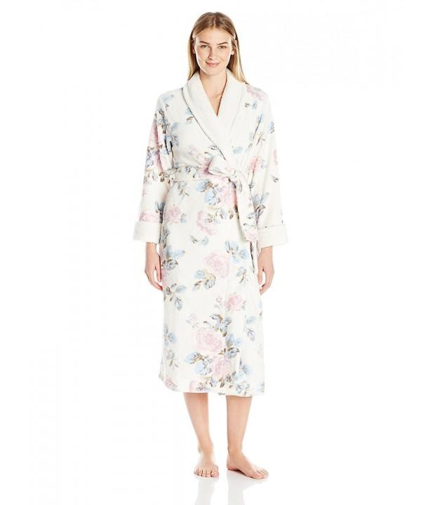 Carole Hochman Womens Printed Blossom