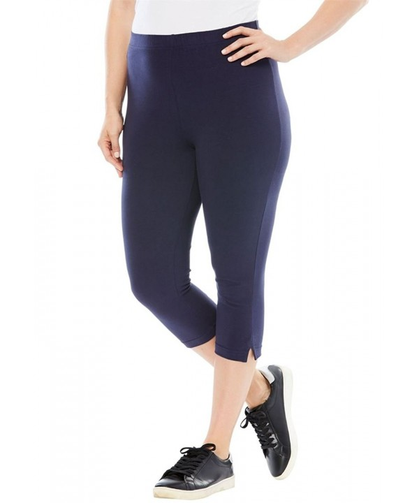 Roamans Womens Stretch Petite Legging