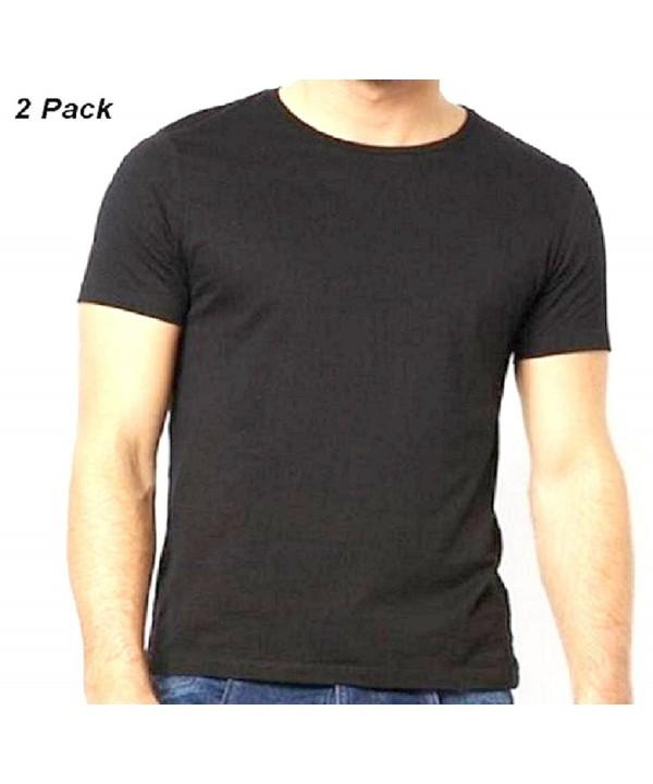 Black Short Sleeve T Shirt 2 Pack