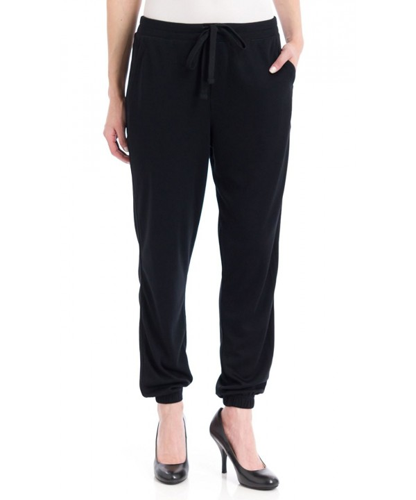 Womens Chill Jersey Sweatpants Black