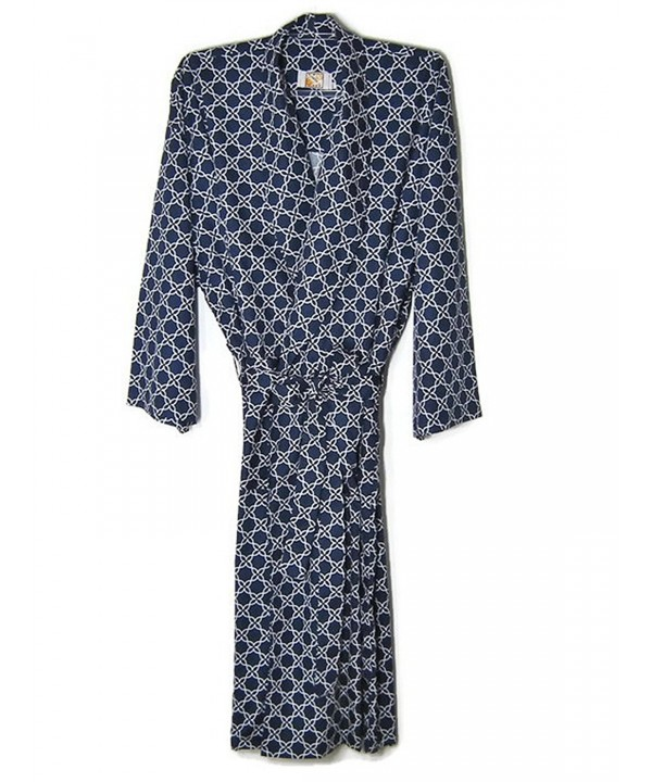 Hello Robes Mens Loungewear Blue