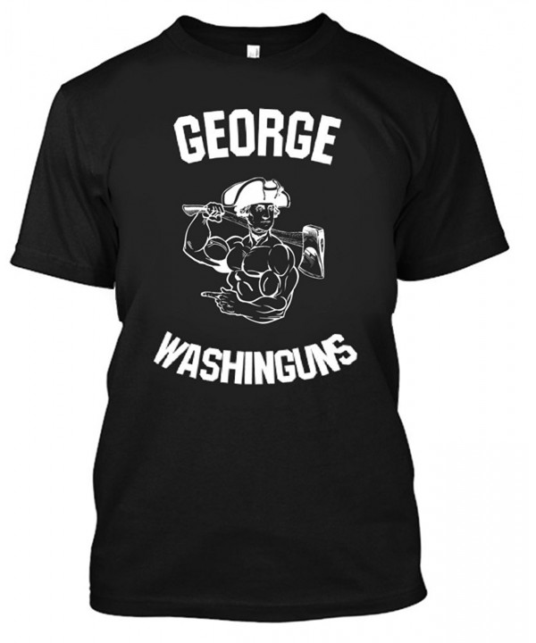 Adult George Washinguns Shirt Large