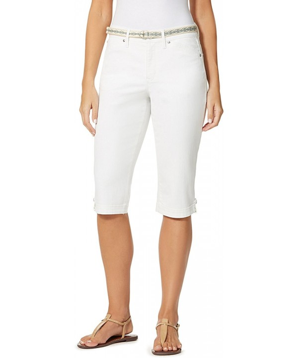 Gloria Vanderbilt Womens Lillian Belted