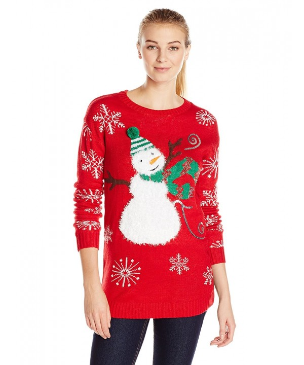 Allison Brittney Snowman Christmas Sweater