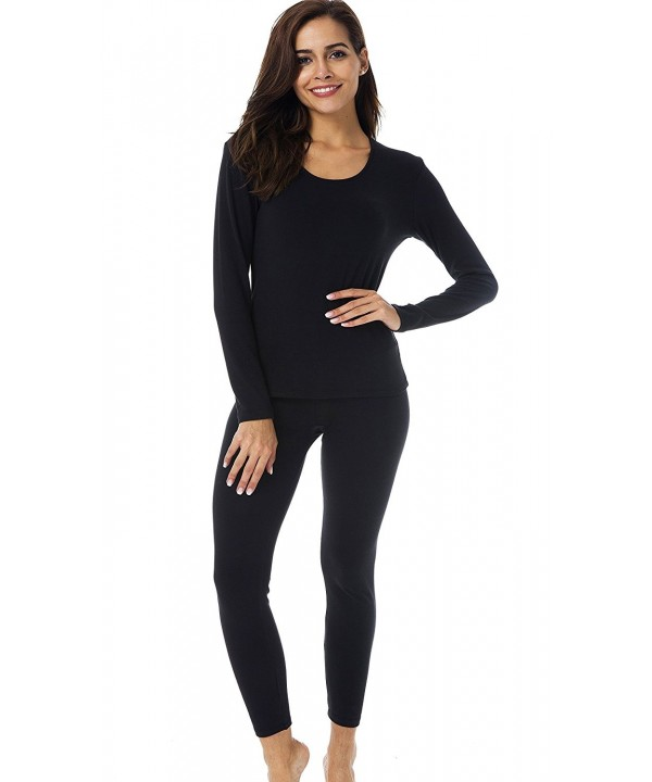HieasyFit Womens Thermal Underwear Fleece