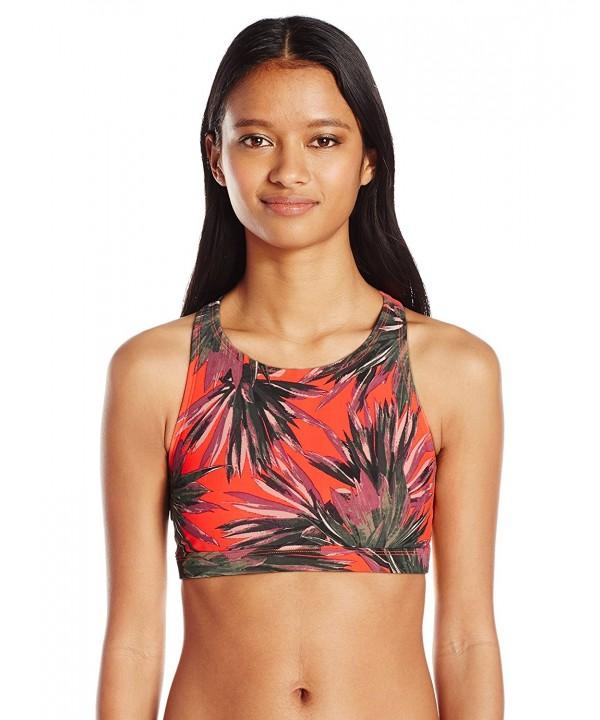 EIDON Womens Agave Bikini Tangerine