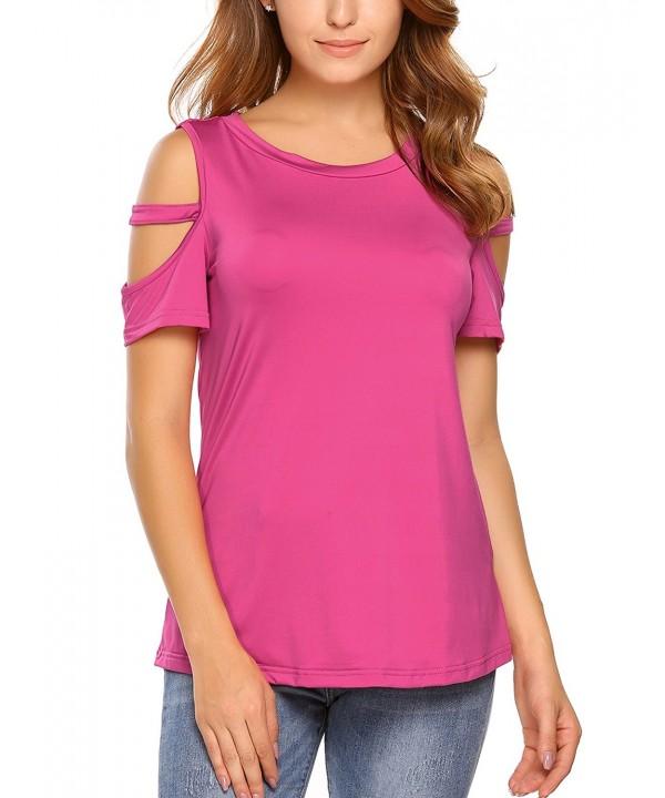 Cosbeauty Womens Shirts Shoulder Blouses