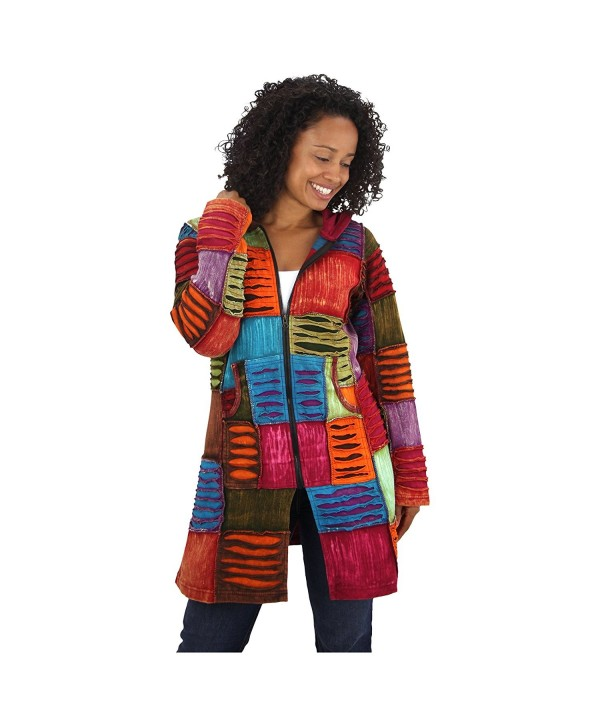 Colors Hooded Jacket XX Large Multicolor