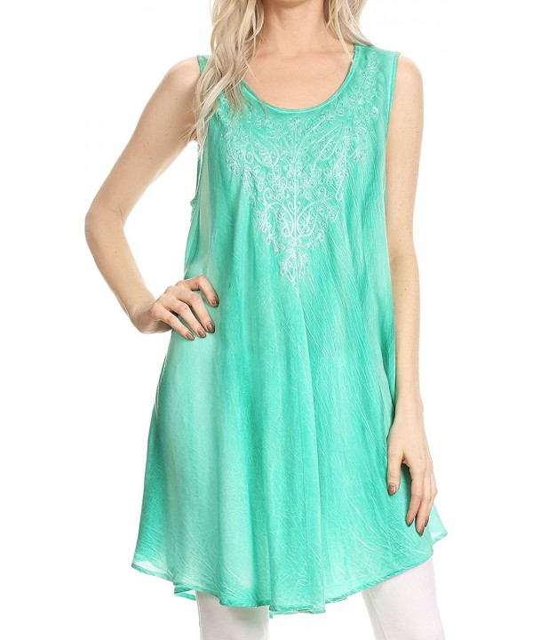 Sakkas 17608NEW Ombre Embroidered Summer