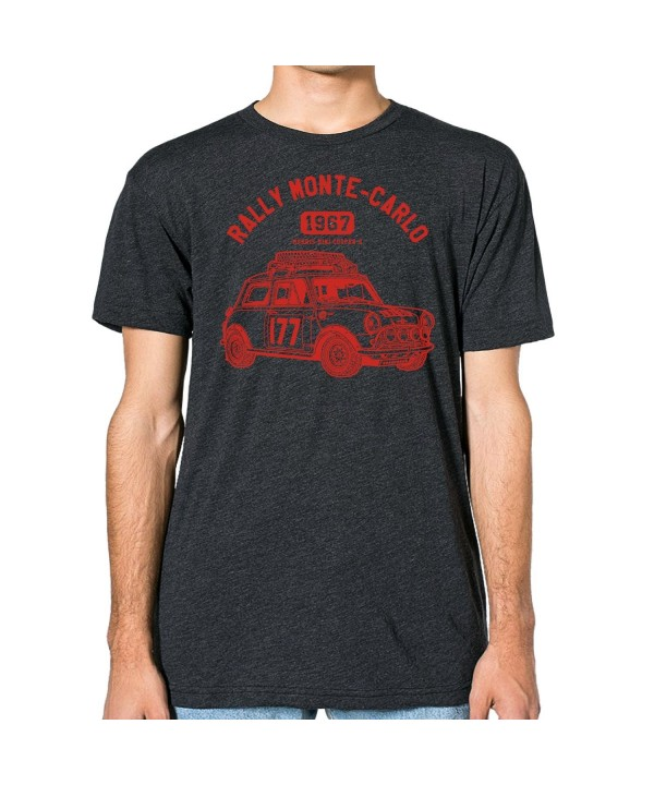 GarageProject101 Morris Cooper T Shirt Heather