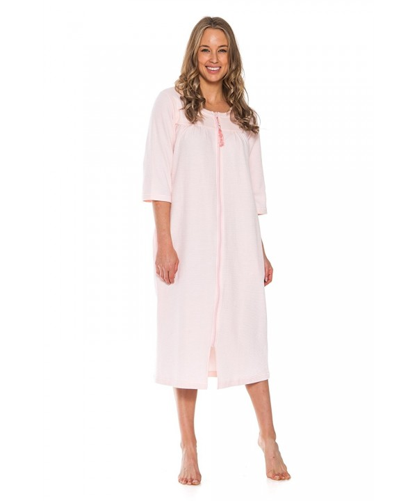 Patricia Womens Waffle Length Nightgown