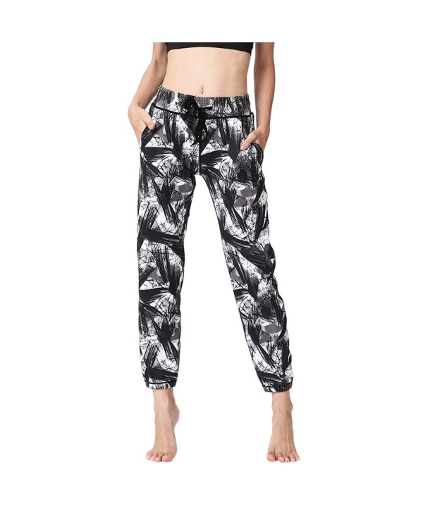 MTSCE Drying Painted Activewear Capris