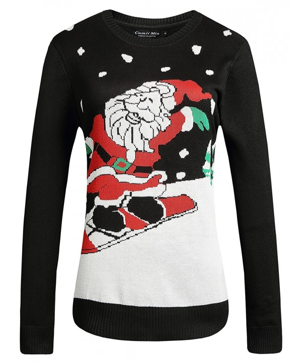 Camii Mia Pullover Christmas Sweater