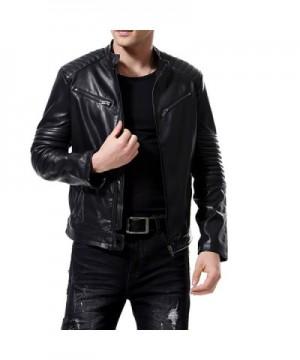 Brand Original Men's Faux Leather Coats Wholesale