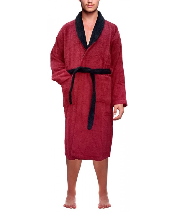 76487adbd9 Men s 100% Terry Cotton Bathrobe Toweling Dressing Gown Robe ...