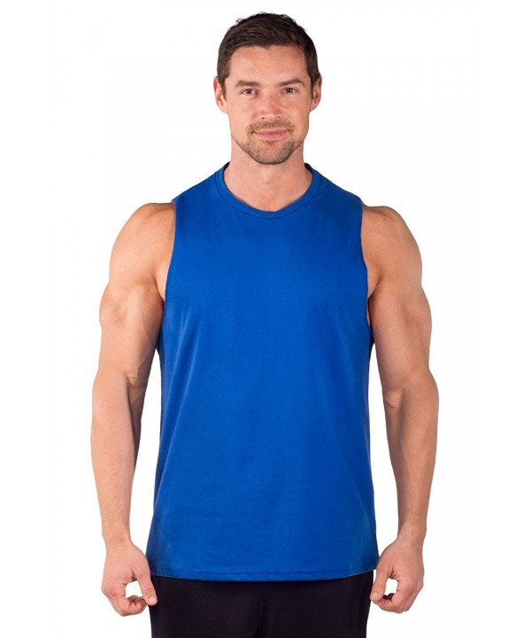 Cut Sleeve Muscle Tee Men