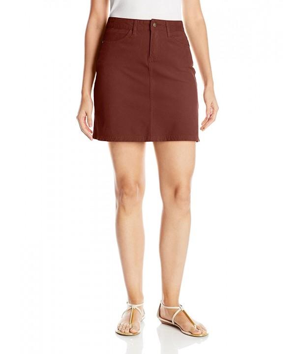 prAna Womens Trista Skirt Umber