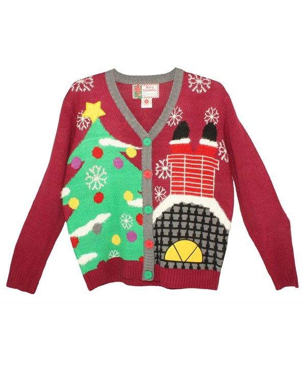 Blue Star Clothing Christmas Cardigan