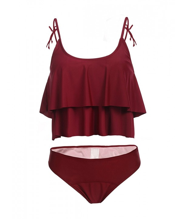 ADOME Bathing Spaghetti Sleeveless Swimwear