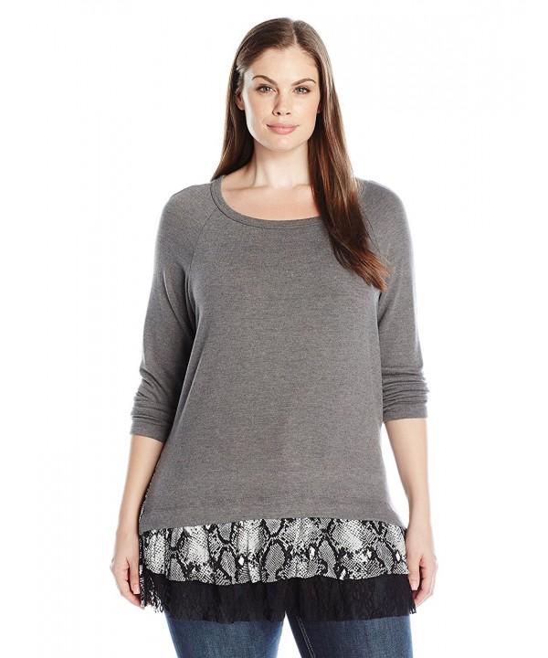 Karen Kane Womens Sweater Heather