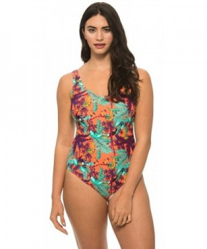 Beach Party Womens Swimsuit Multicolored