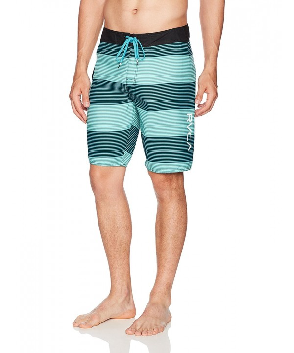 RVCA Civil Stripe Trunk Baltic