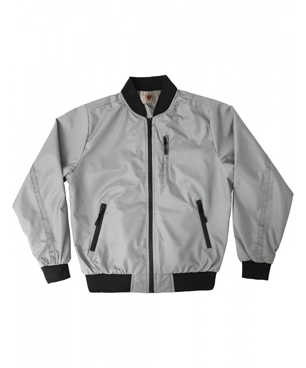 Ma Croix Waterproof Windbreaker vw6060_Gray