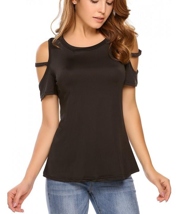 Cosbeauty Shoulder Sleeve Blouse T shirt