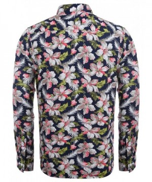 f679145452a COOFANDY Floral Sleeve Casual Button  Cheap Designer Men s Casual Button-Down  Shirts On Sale  Fashion Men s Shirts ...
