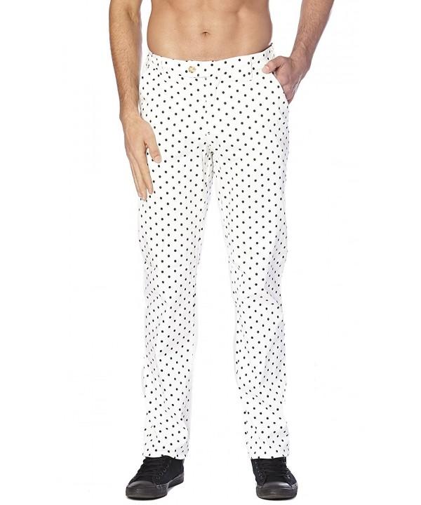 CONCITOR Dress Pants POLKA Design