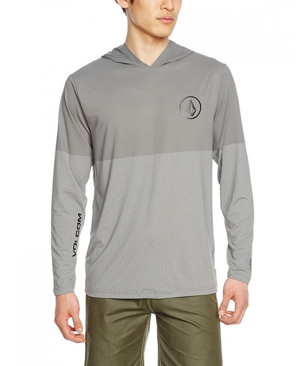 Volcom Distortion Sleeve Rashguard Pewter