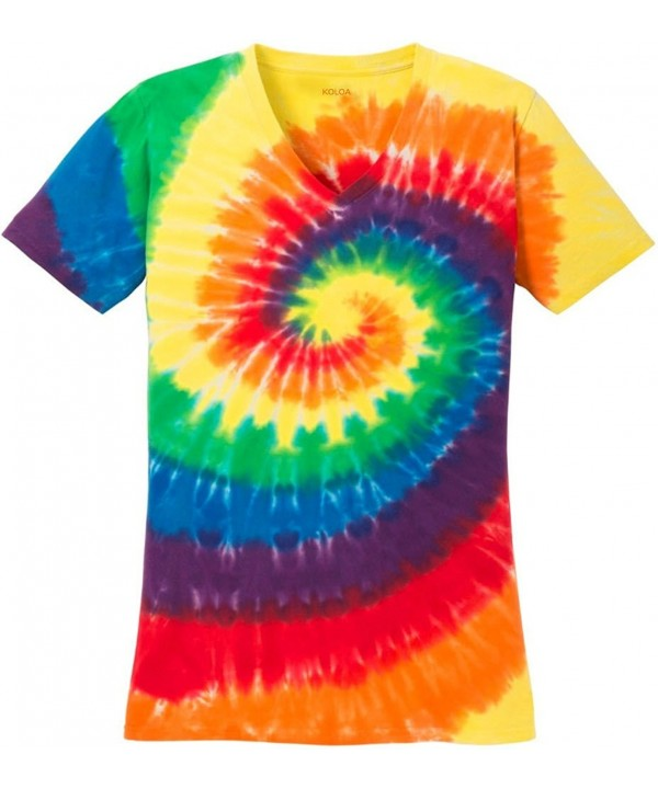 Joes USA colorful Tie Dye T Shirt Rainbow XL