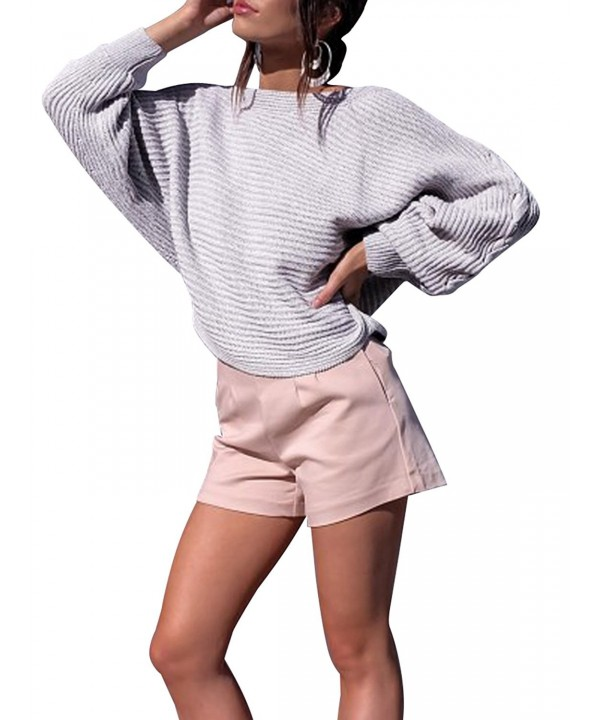 Glamaker Pullover Shoulder Sweater Knitted