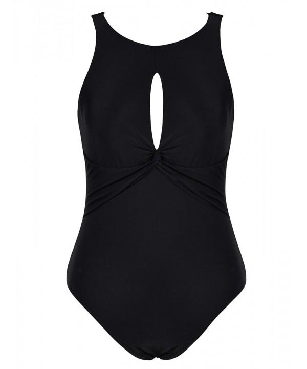 Firpearl Swimsuit Keyhole Bathing Swimwear