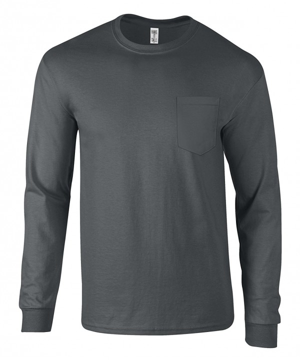 Have Tall Sleeve Ringspun Charcoal