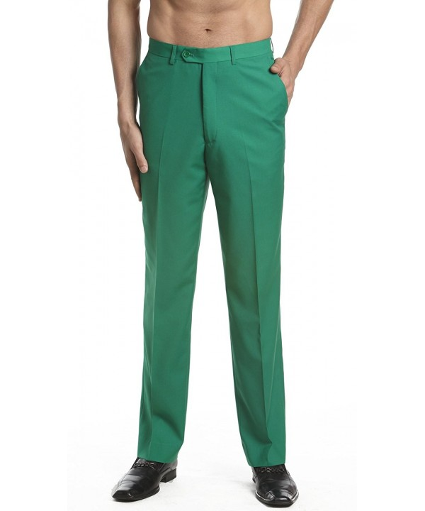 CONCITOR Dress Trousers Slacks EMERALD