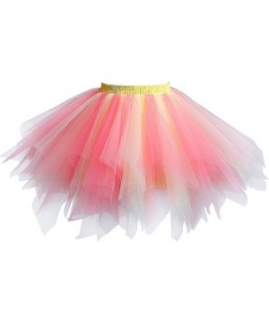 YuShengTang Half Length Vintage Petticoat Chiffon