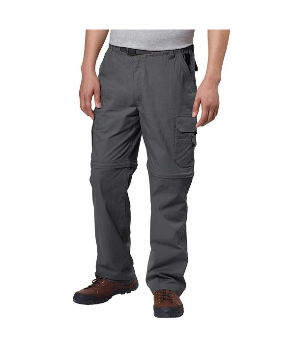 BC Clothing Convertible Zippered Charcoal