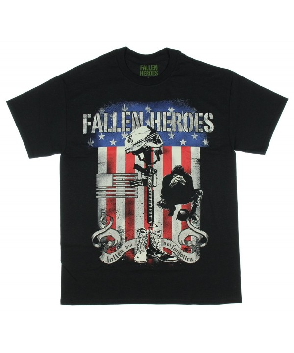 Fallen Heroes Forgotten Graphic T Shirt