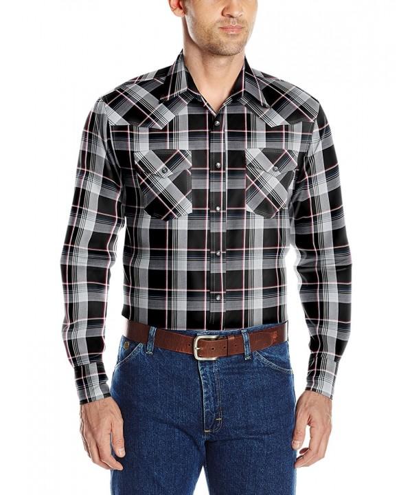 Wrangler Sleeve Pocket Shirt Black