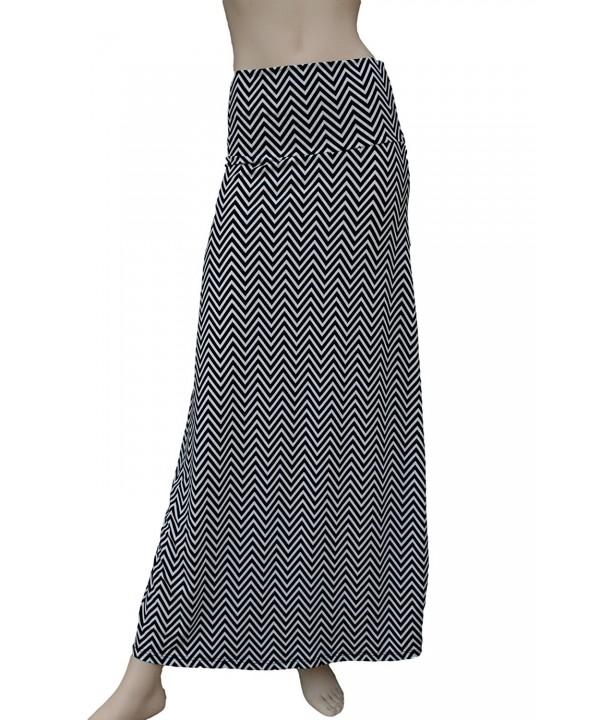 Azules Printed design Skirt Black