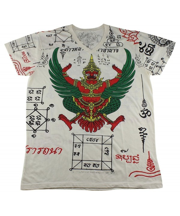 Tattoo Garuda Prayer T Shirt WK09