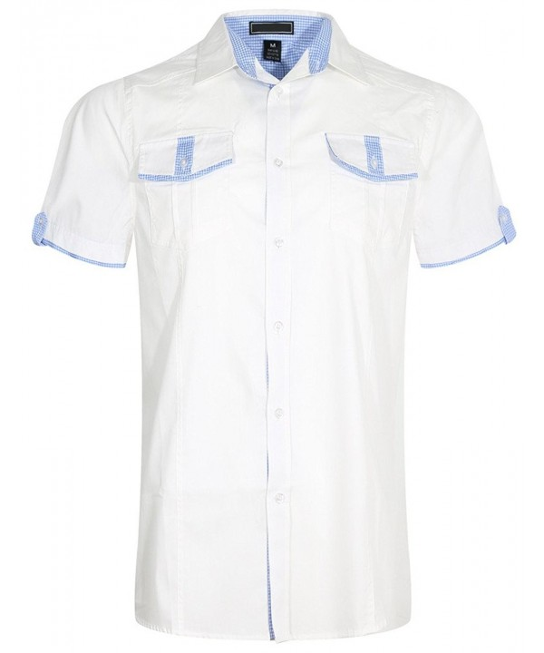 UPSCALE Short Sleeve Button Shirt