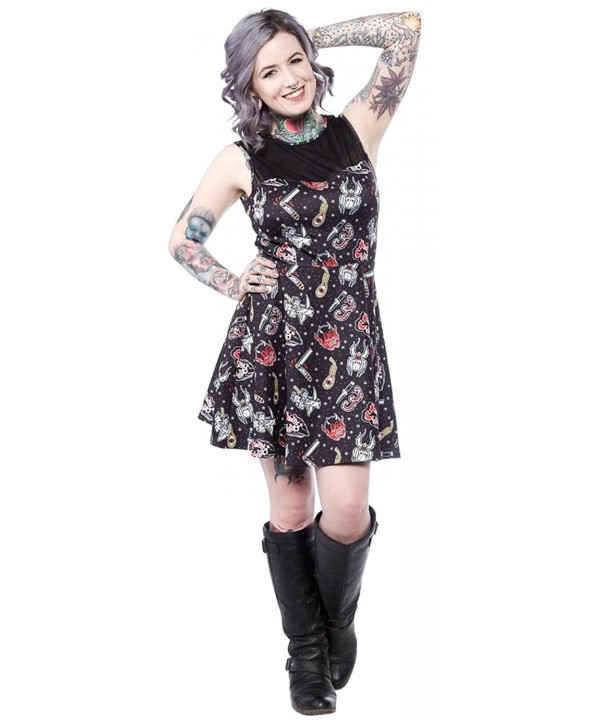 Sourpuss Friday 13th Mary Dress