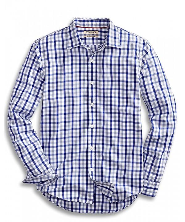 Goodthreads Slim Fit Long Sleeve Checked Shirt
