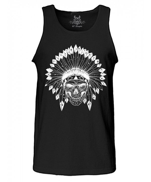 Gs eagle Printed Indian Skull 3XLarge