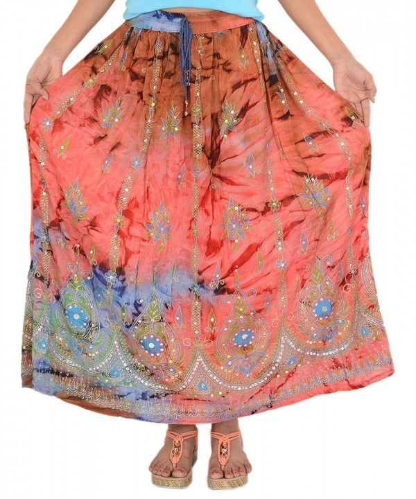 Skirts Scarves Womens Beaded Sequin