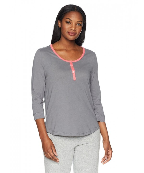 Jockey Womens Sleeve Top Grey