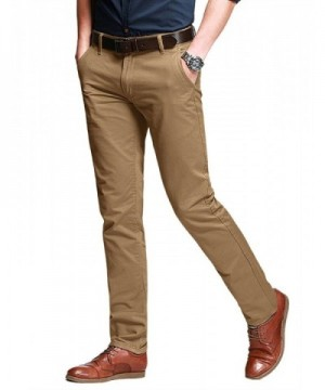 Match Tapered Stretchy Casual Pants