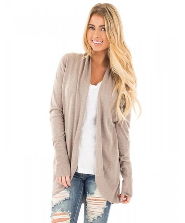 Anself Womens Sweater Outwear Cardigans